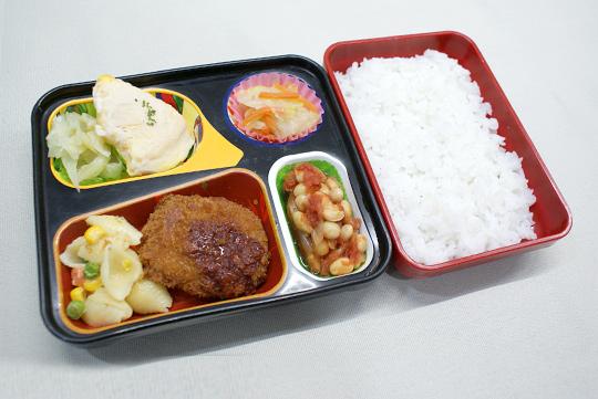 牛肉コロッケ弁当